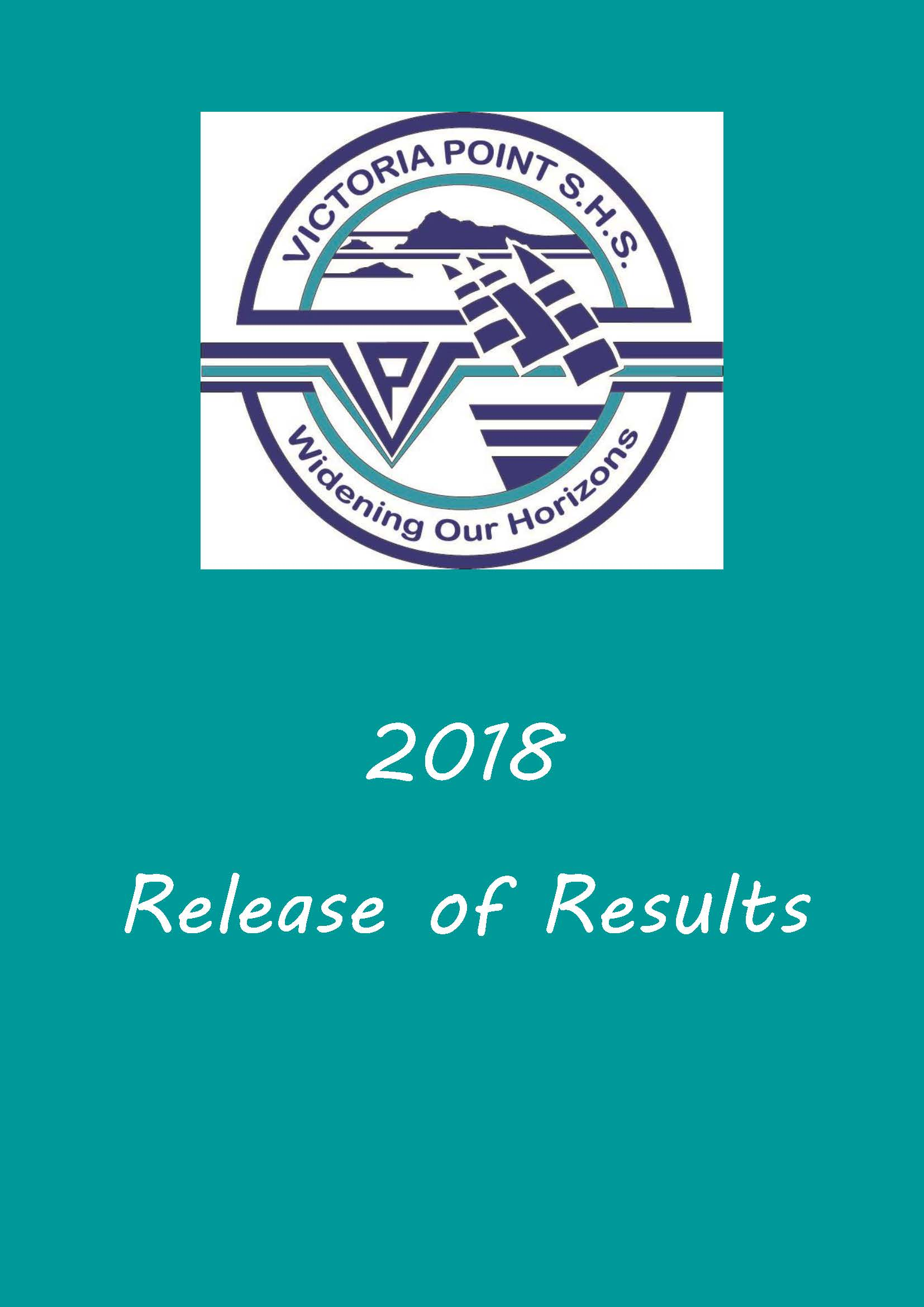 QCAA - Release of Results 2018